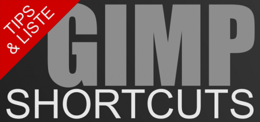 Gimp Shortcuts