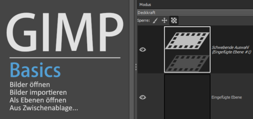Gimp - Import Images Basics