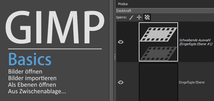 Gimp - Import Images Basics