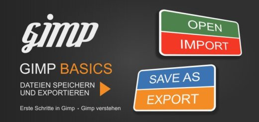 Save and Export with Gimp