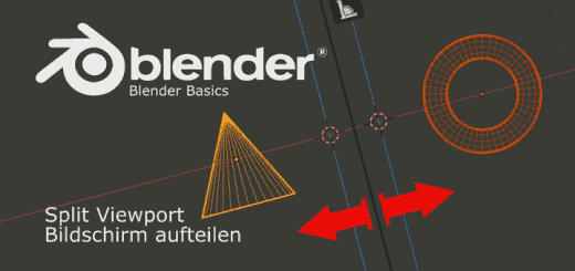 Split Viewport in Blender