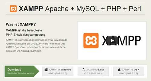 XAMPP Download