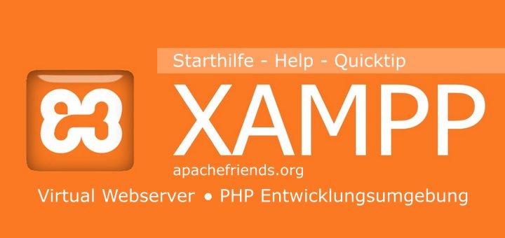 XAMPP Starthilfe