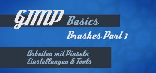 Gimp Basics für Pinsel und Brushes