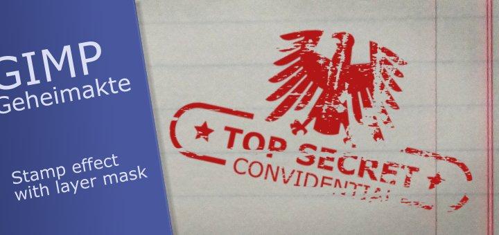 Gimp Top Secret Tutorial