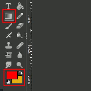 Verlaufs-Tool und Farben