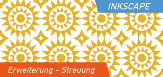 Inkscape Erweiterung- Streuung