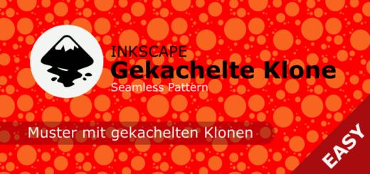 Inkscape gekachelte Klone