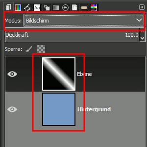 Modus: Bildschirm