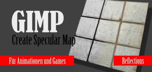 Gimp Specular Map