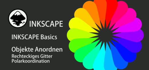 Objekte Anordnen mit Inkscape