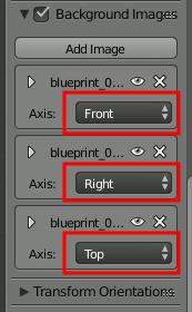 Blender Blueprint Views