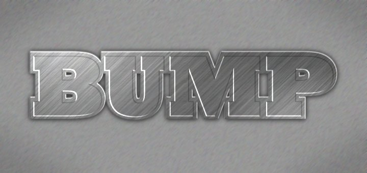 Gimp Bumpmap Tutorial