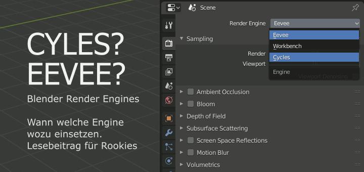 Blender 2.8 Render Engines