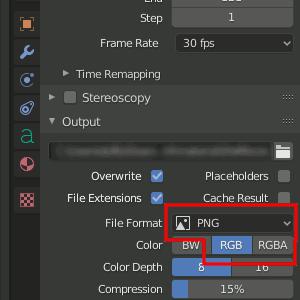 PNG in Blender 2.8