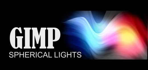 Spherical Lights in Gimp