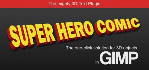 Gimp 3D Text Plugin
