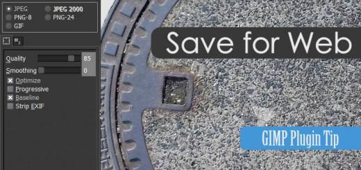 Gimp Save for Web
