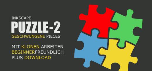 Geschwungene Puzzle in Inkscape