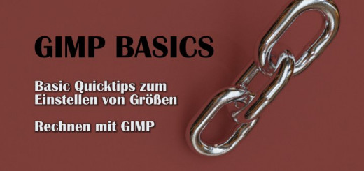 Gimp Basic Quicktips