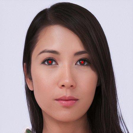 Rote Augen (künstlich)