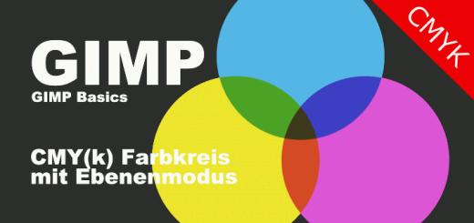 Gimp CMYK Farbkreis
