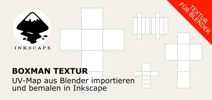 UV-Map aus Blender in Inkscape bearbeiten