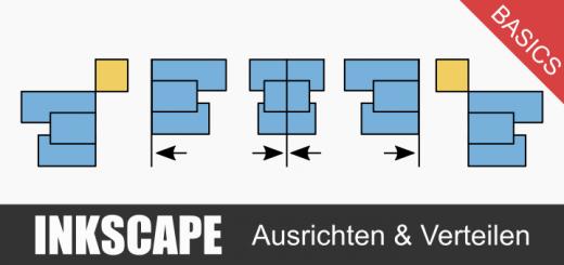 Inkscape Ausrichten Basics