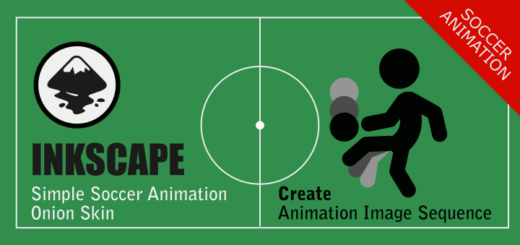 Inkscape - Simple Soccer Animation Sequence