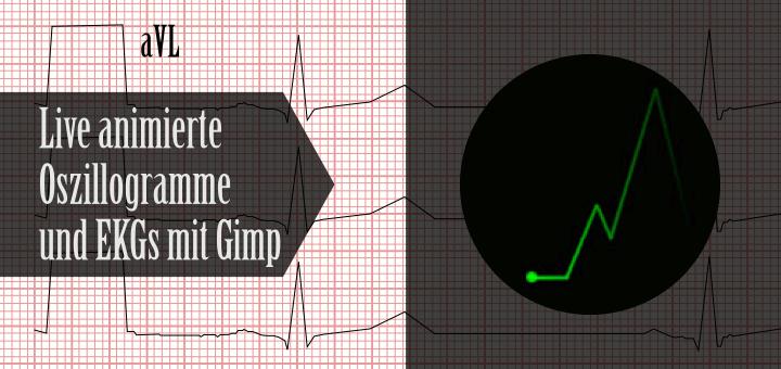 Animated Oszillogramm in Gimp