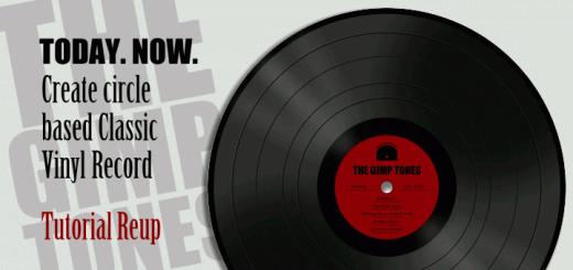 Create Gimp Vinyl Record