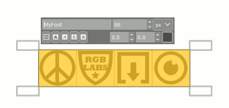 SVG Font in Gimp