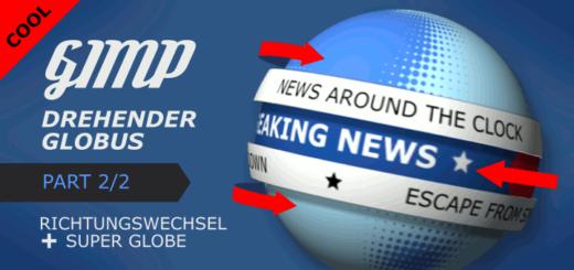 Gimp - Rotating Globe 2