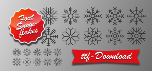 Snowfalkes Font Download