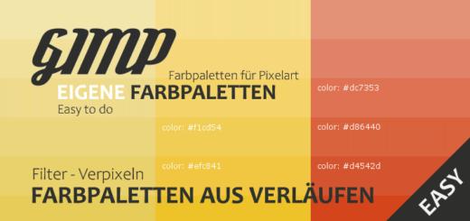 Farbpaletten aus Farbverläufen erstellen