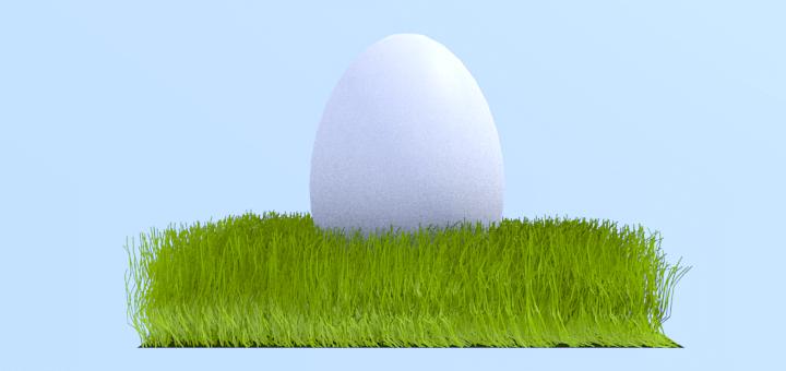 Blender Grass Egg Tutorial