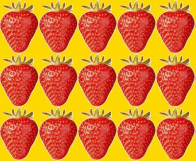 Straberry Pattern in Inkscape