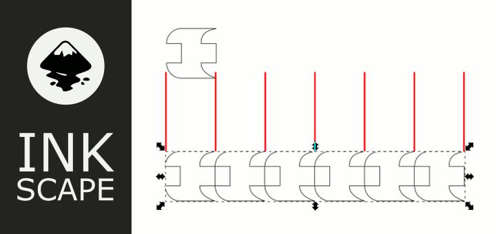 Inkscape Muster an Pfad