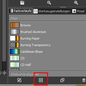 Neuen Farbverlauf erzeugen