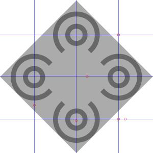 Geöffnete Kreisformen