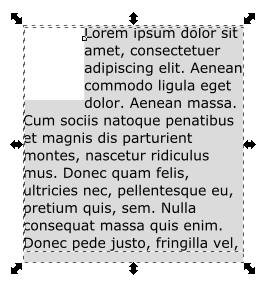 Inkscape Text Columns