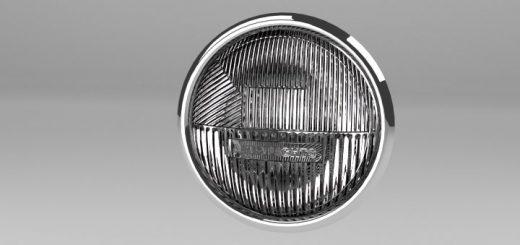 Blender Car Headlight