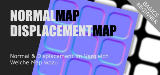 Normal vs Displacement Map