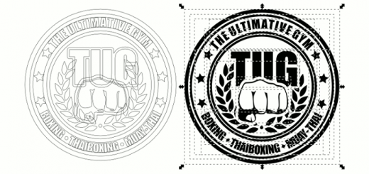 Inkscape Boxing Logo