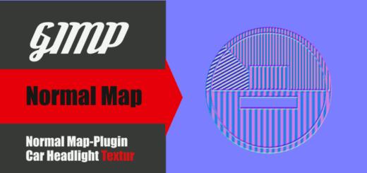 Normal Map mit Gimp