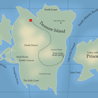 Inkscape Fantasy Map