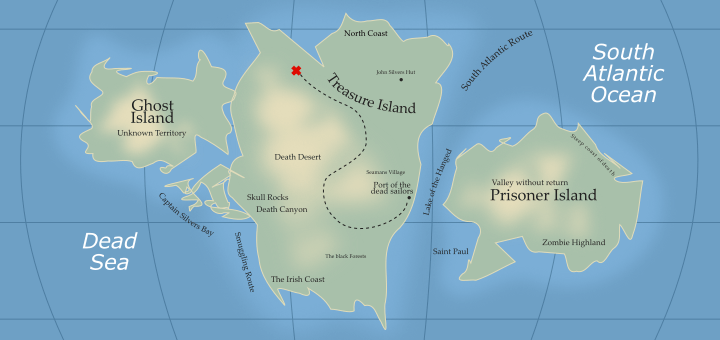 Inkscape Fantasy Map