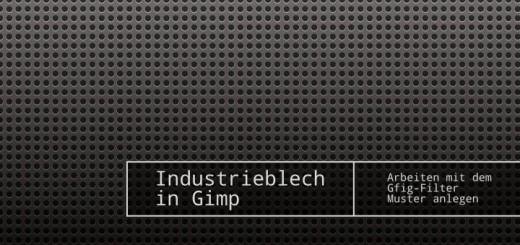 Gimp Industrieblech