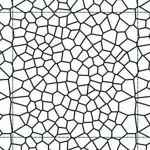Teilausschnitt Voronoi