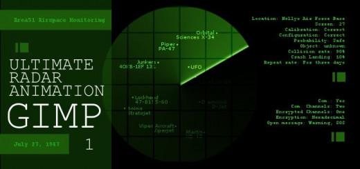 Gimp Radar Animation 1